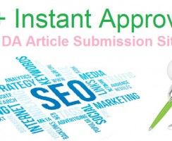 15+ Instant Approval High DA Article Submission Sites 2018