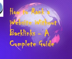 How to Rank a Website Without Backlinks – A Complete Guide